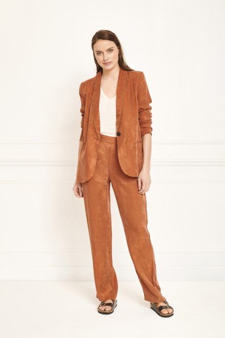 Trousers - POUVO - Rust