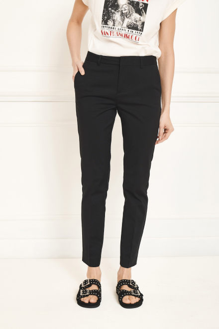 Trousers - PETALE - BLACK