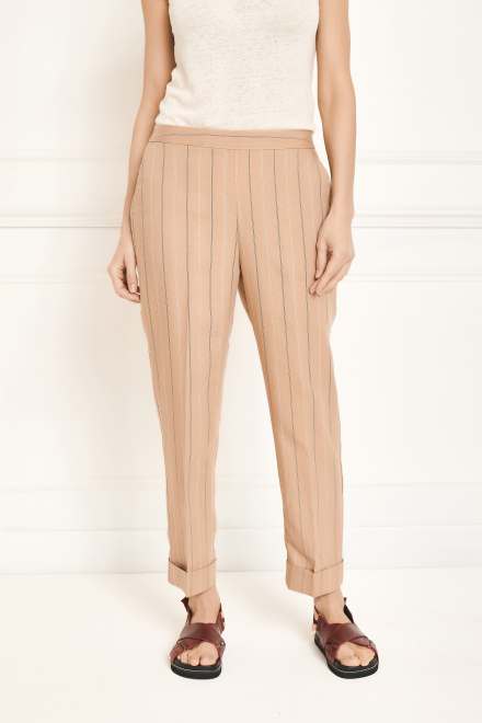 Trousers - PANETO - Sand