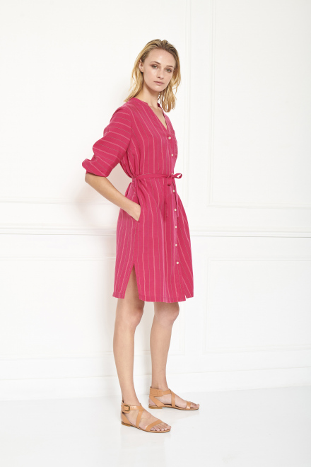 Dress - ROULI - FUSHIA