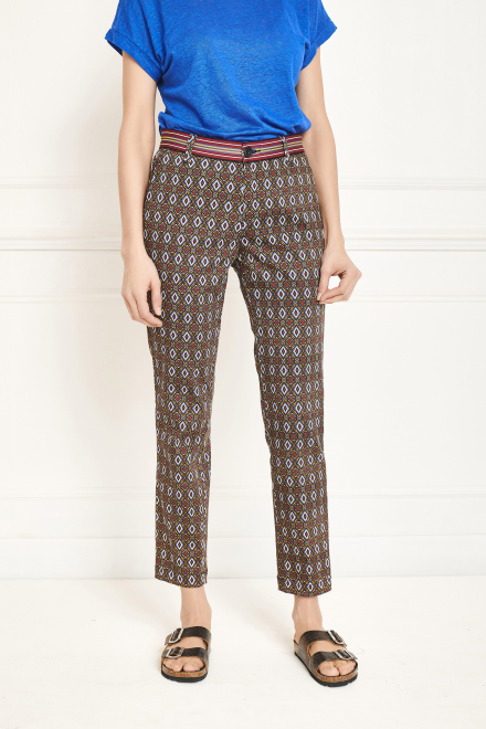 Trousers - PAPILLON - Safran