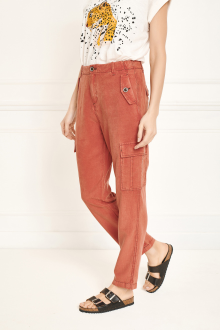Trousers - PATYA - FRAISE