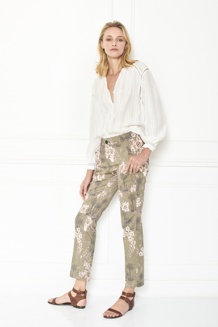 Trousers - PLEDI - KAKI