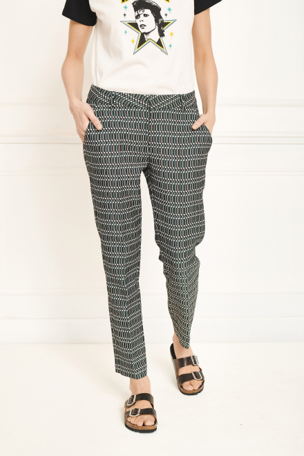 Trousers - PAMON - GREEN