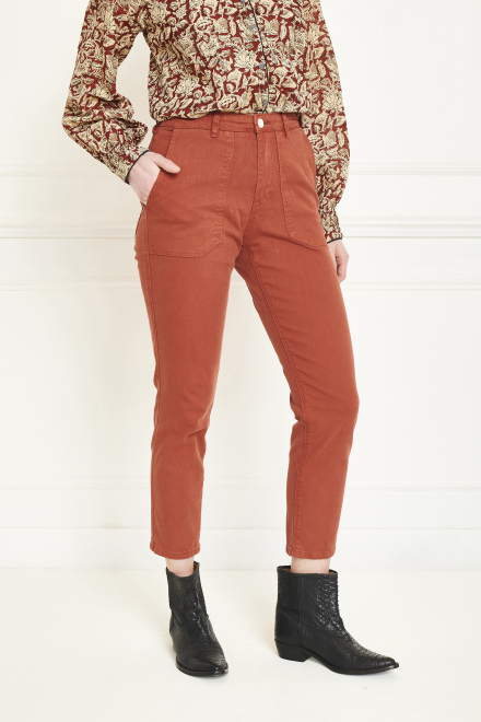 Trousers - POFINA - Rust
