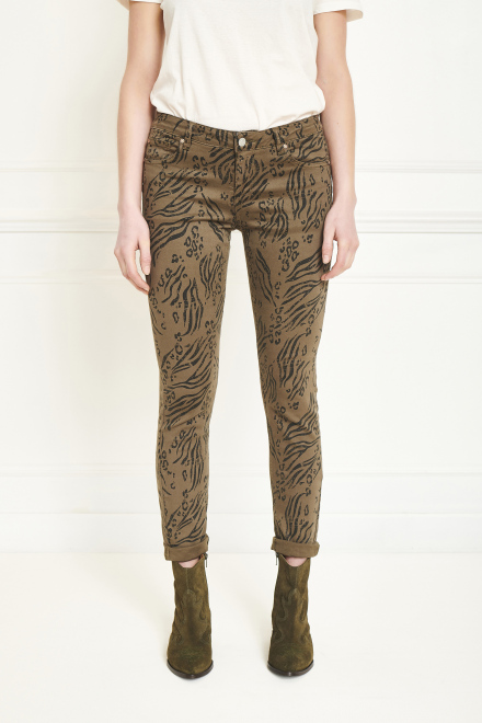 Trousers - THE BARDOT TIGER - KAKI