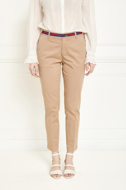 Trousers - THE SUNSET FANCY - SABLE