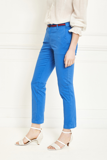 Trousers - THE SUNSET FANCY - BLUE
