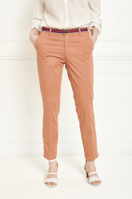 Trousers - THE SUNSET FANCY - BISCUIT