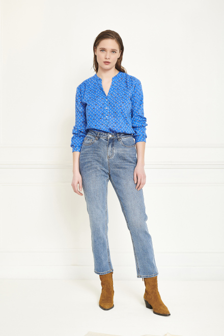 Trousers - THE PEARL HENDRIX - LIGHT WASH
