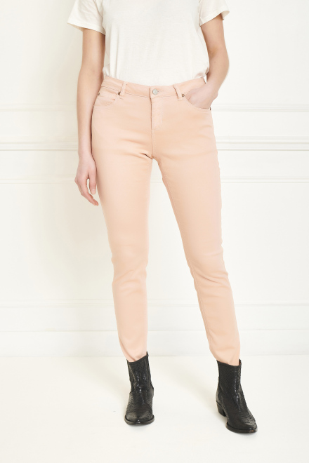 Trousers - THE BARDOT SPRING STRETCH - PEACH