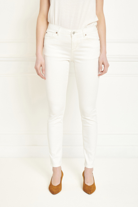 Trousers - THE BARDOT SPRING STRETCH - OFF WHITE