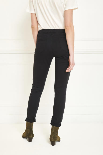 Trousers - THE BARDOT SPRING STRETCH - BLACK