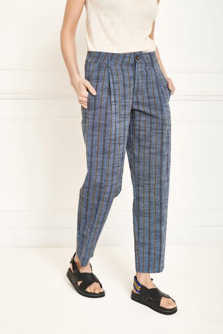 Trousers - PODIS - BLUE