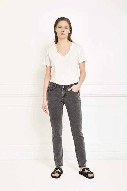 Trousers - THE BARDOT POWER STRETCH - GREY