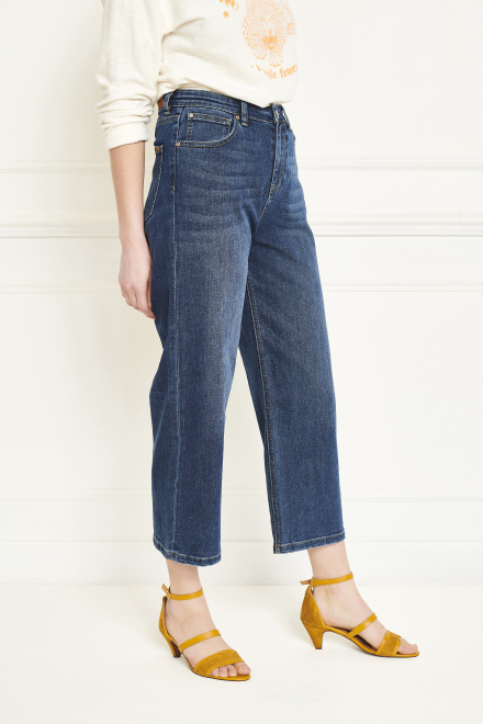Trousers - THE EMMA WILSON - BLUE-SPENCER WASH