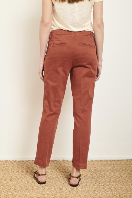 Trousers - PANAMO - Rust