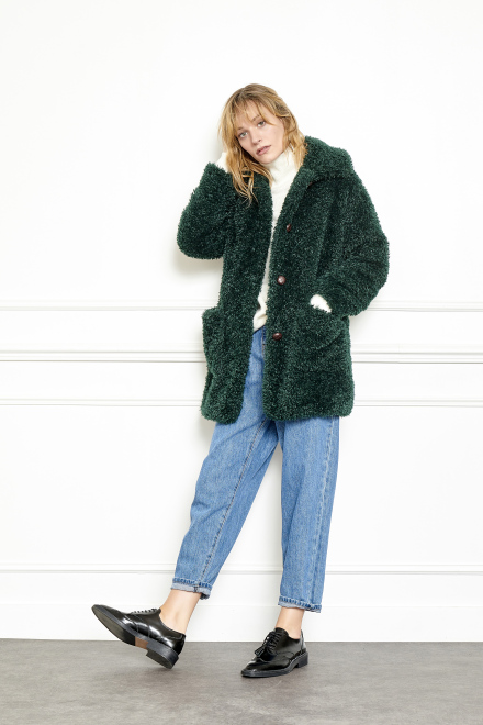 Coat - MELBA - Green