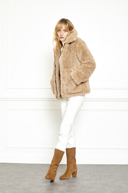 Coat - MERIBEL - Beige