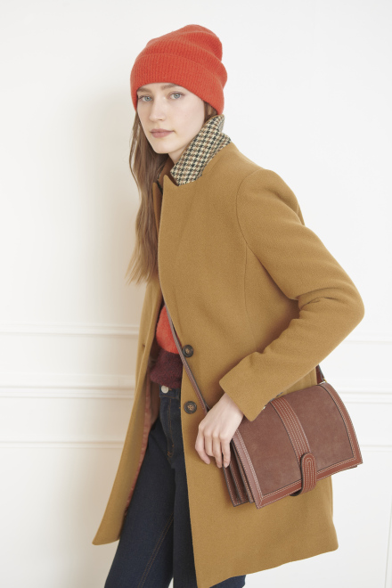 Coat - MONICA - Camel