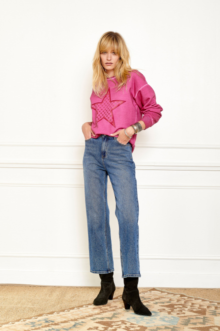 Jean - THE DEBBIE ROSES - BLUE - STONE WASH