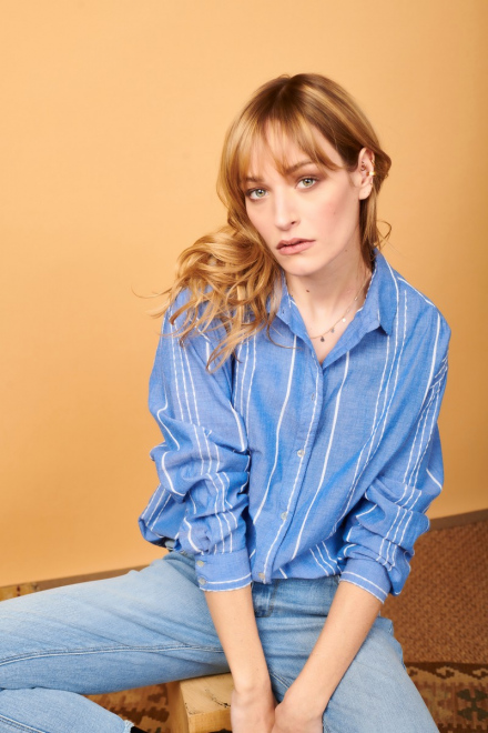 Chemise - CAMILLE - Blue