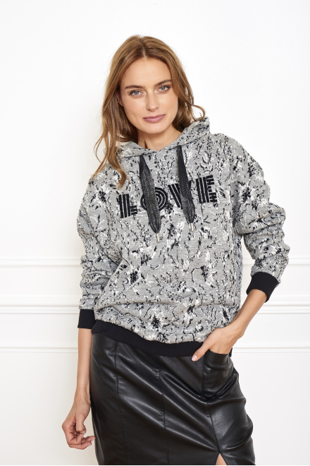 SINILA - Sweat - MELANGE GREY