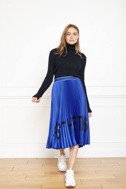 JEFF - Skirt - BLEU VICTORIEN